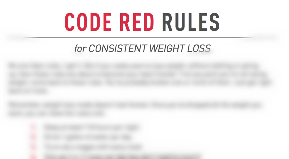 Code Red 10 Pound Takedown